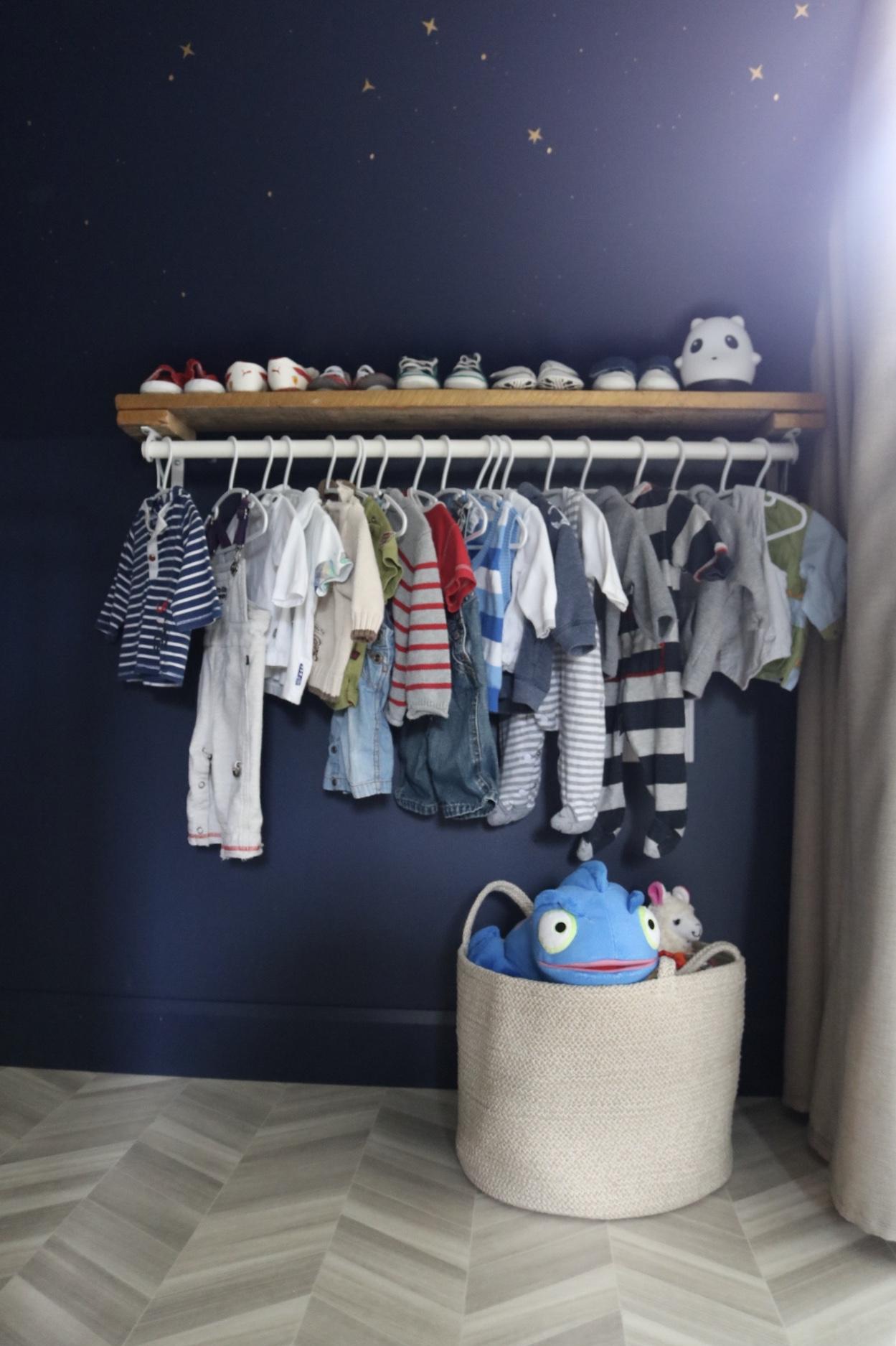 Réalisation design d'intérieur résidentielle La nocturne chambre bébé rangement ETC 2019