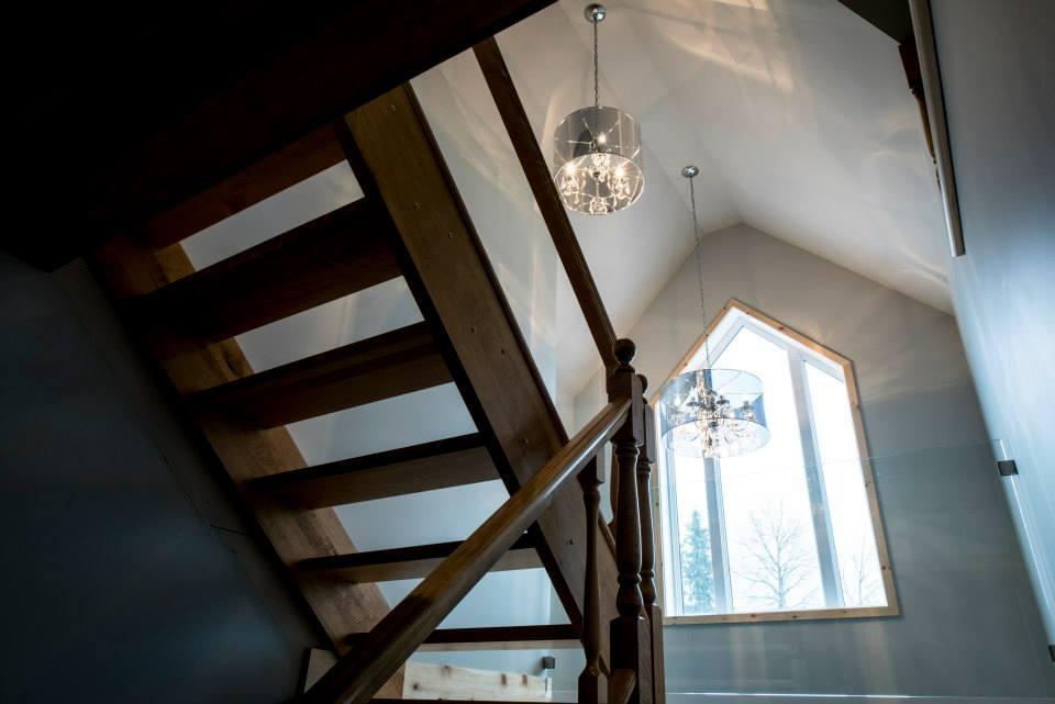 Réalisation résidentielle L'ingénieuse escalier 2 ETC 2012