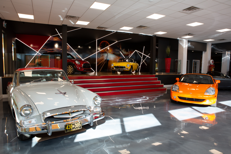 EXO Automobiles salle de montre Struktura design 2020