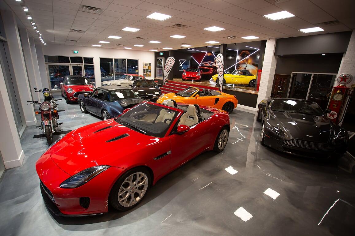 EXO Automobiles salle de montre 2 Struktura design 2020