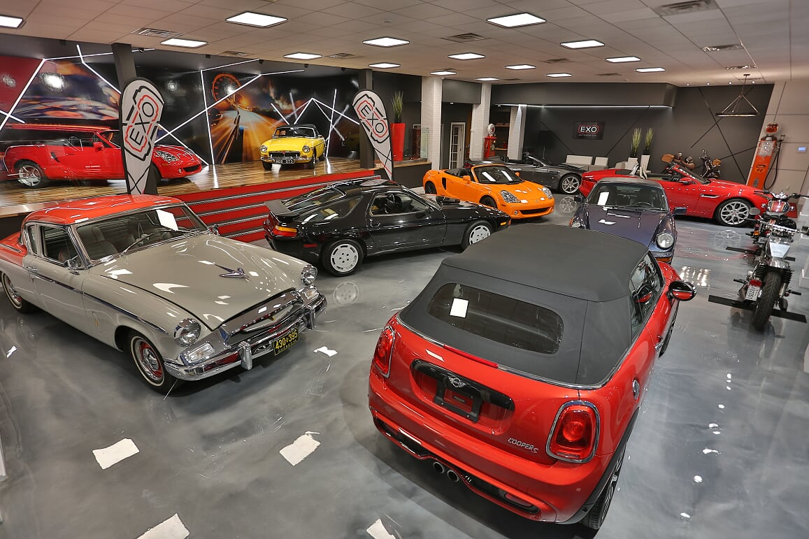 EXO Automobiles salle de montre 3 Struktura design 2020