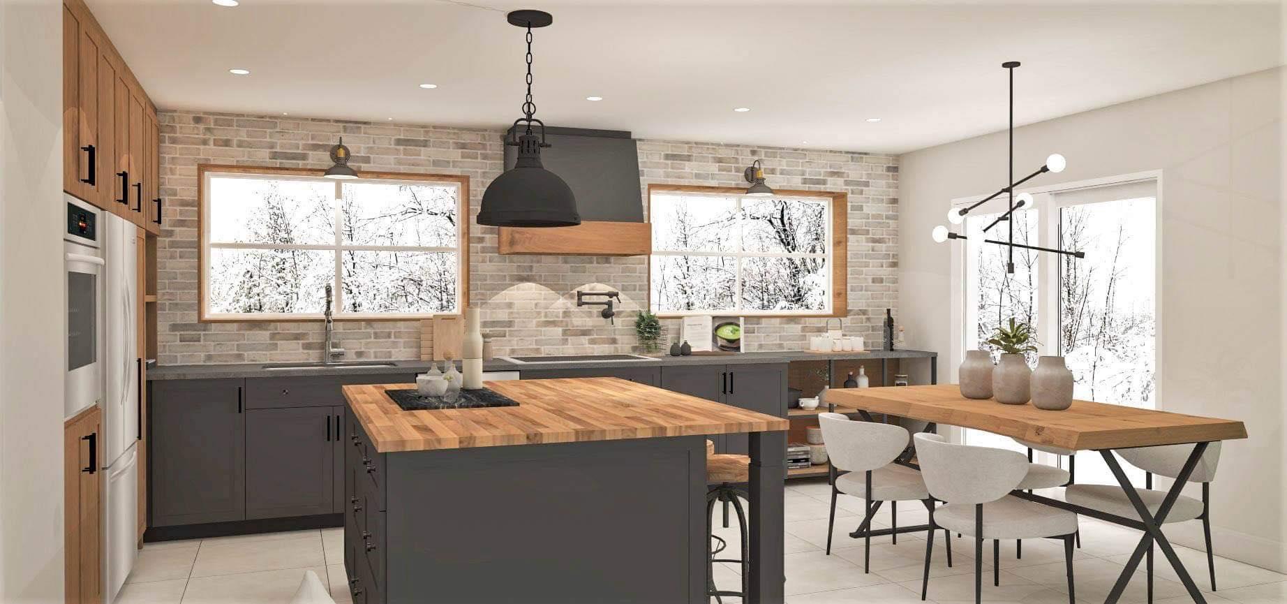 La cour arrière design Struktura 2020 - Salle à manger