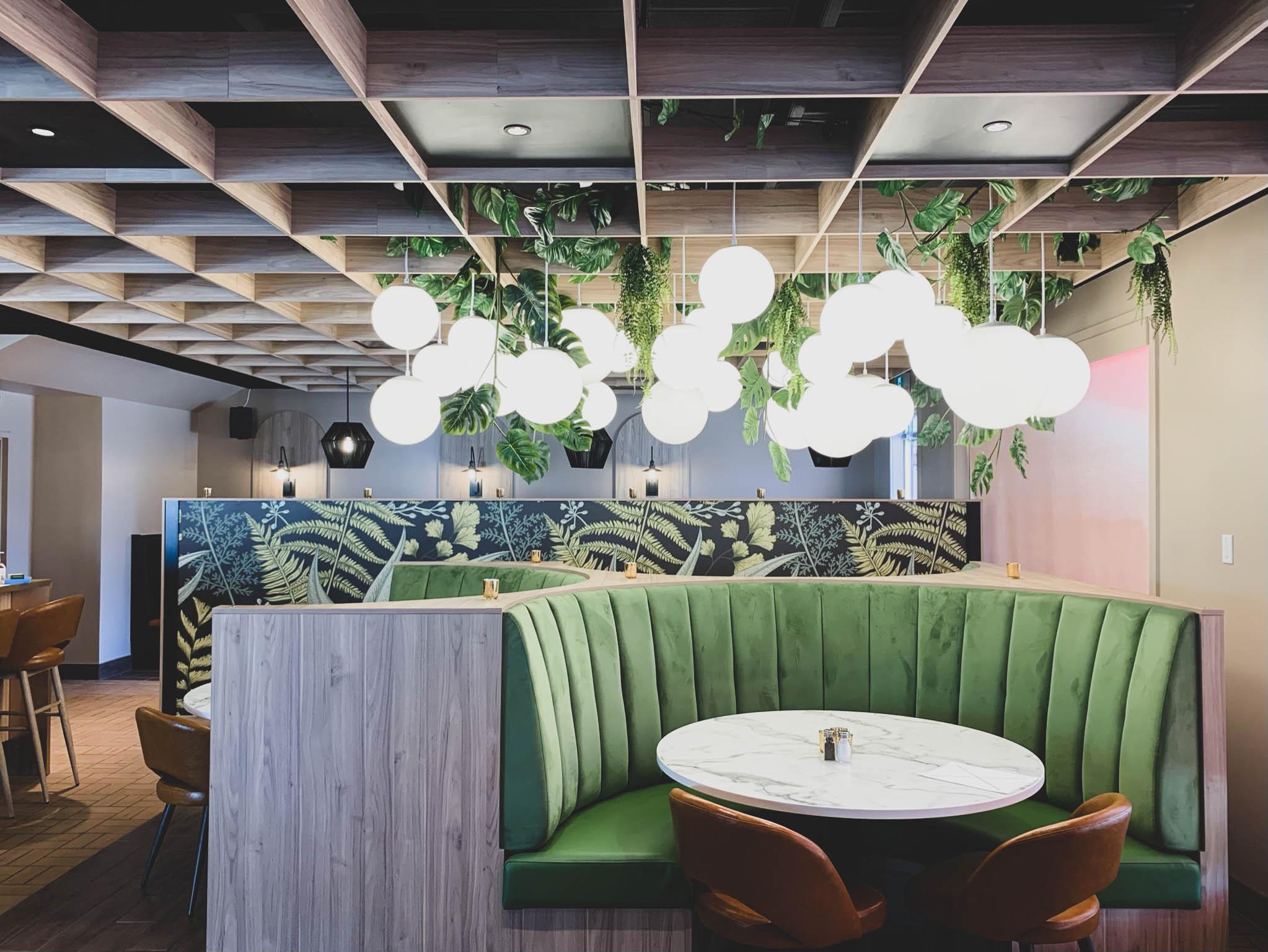 Réalisation Basha Nomade banquette centrale design Struktura 2021