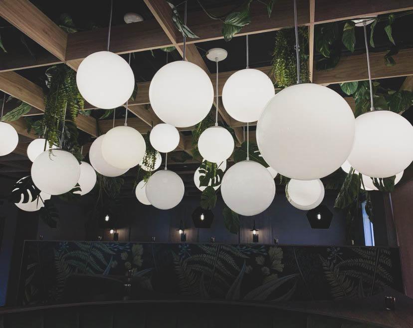 Réalisation Basha Nomade luminaire design Struktura 2021